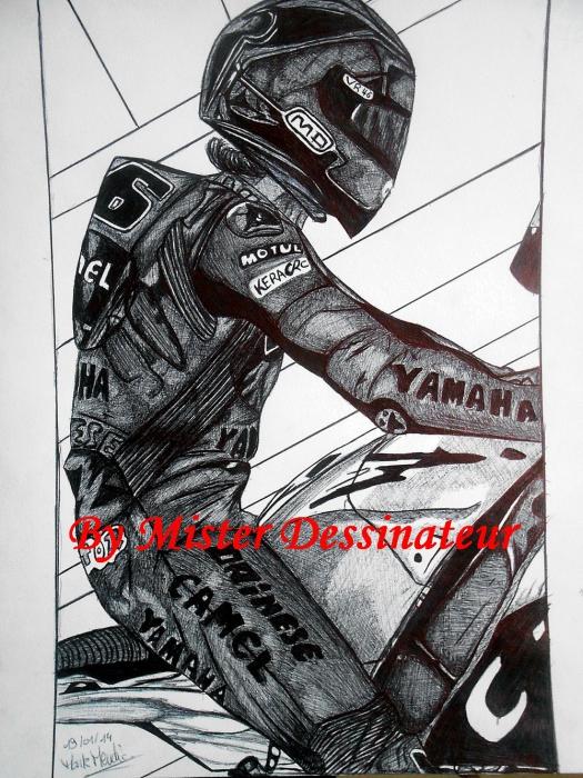 Valentino Rossi by MisterDessinateur45